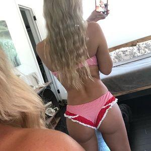 Amore and sorvete new red bikini large